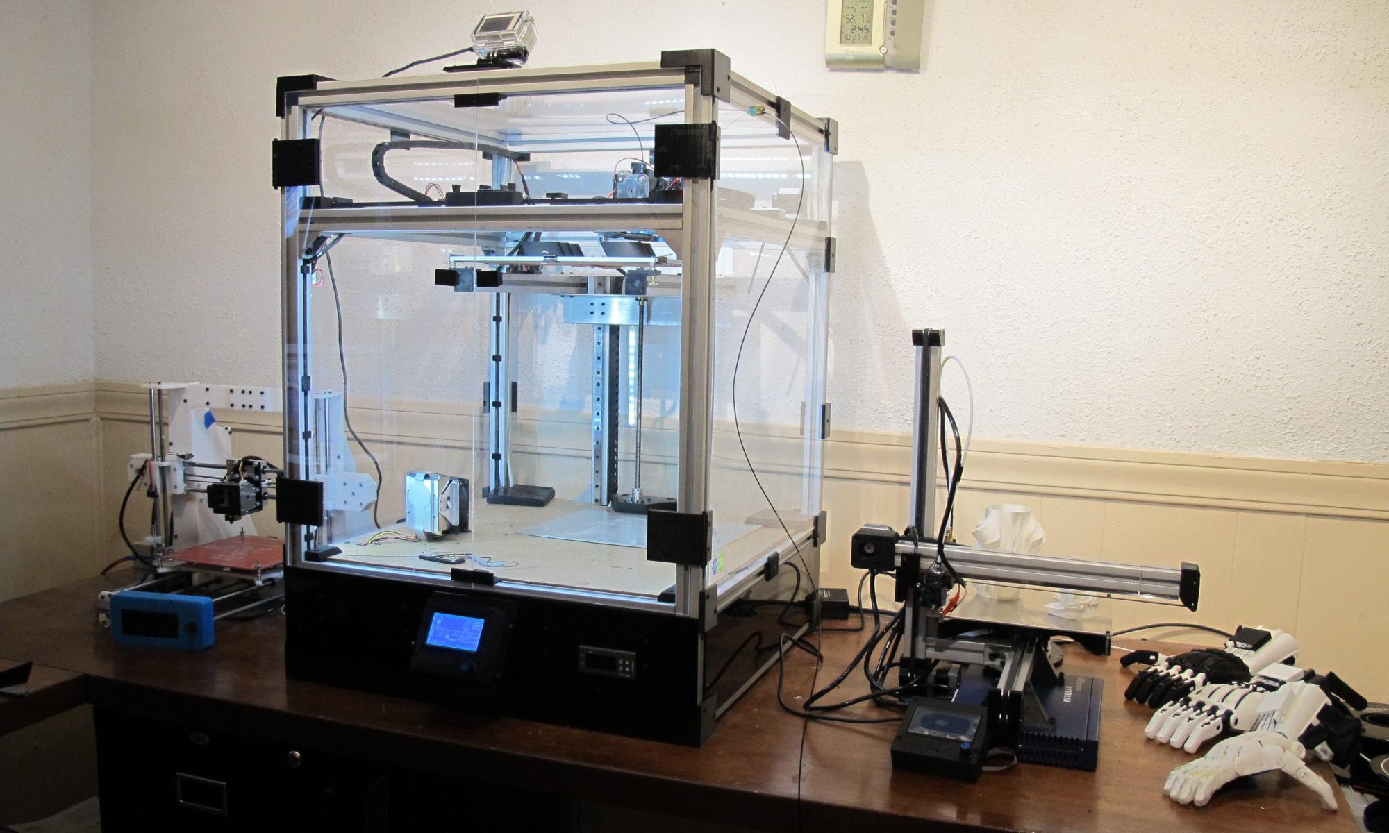 Core3D Custom Printers